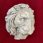 Löwenkopf 35 x 30 cm